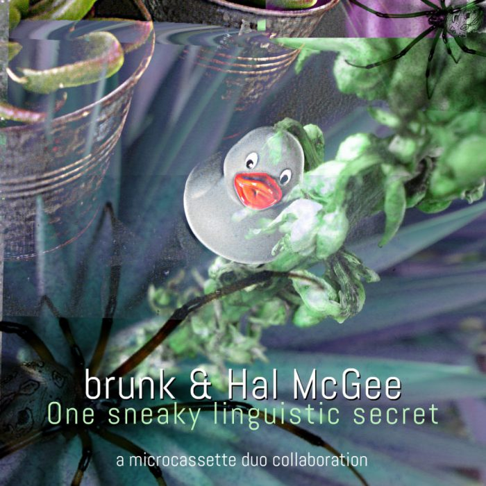 brunk & Hal McGee microcassette duo collaboration