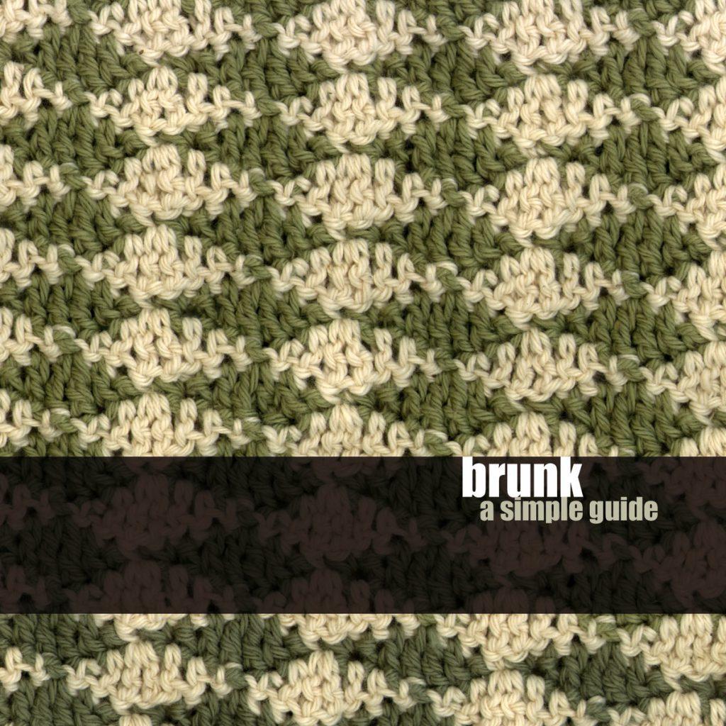 brunk - a simple guide - album artwork