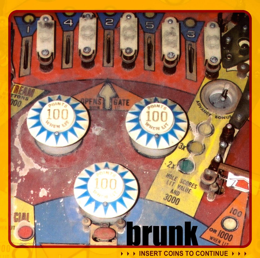 brunk - insert coins to continue - artwork