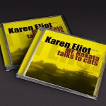 Karen Eliot – Mr. Nakata talks to cats - CD-R - artwork photo