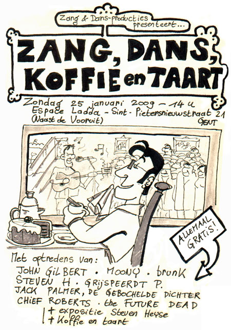 Zang, dans, koffie en taart!
